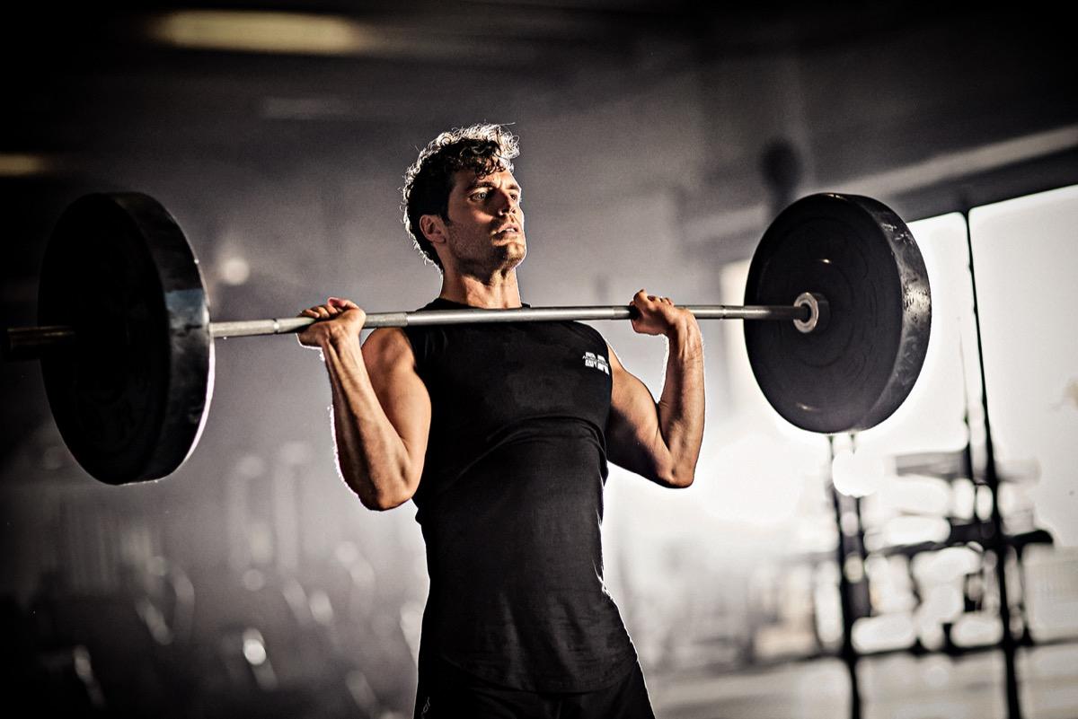 Henry Cavill weights