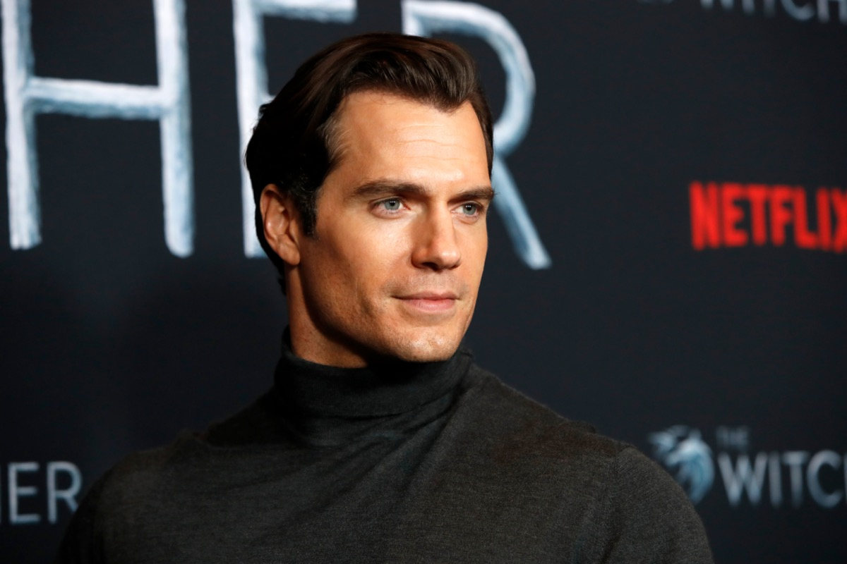Henry Cavill The Witcher premiere