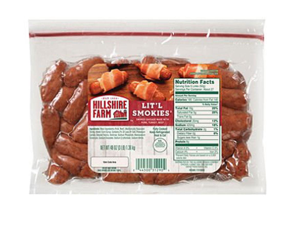 hillshire farm litl smokies