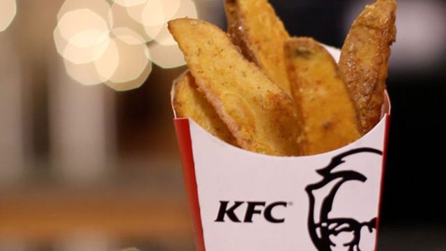 kfc potato wedges