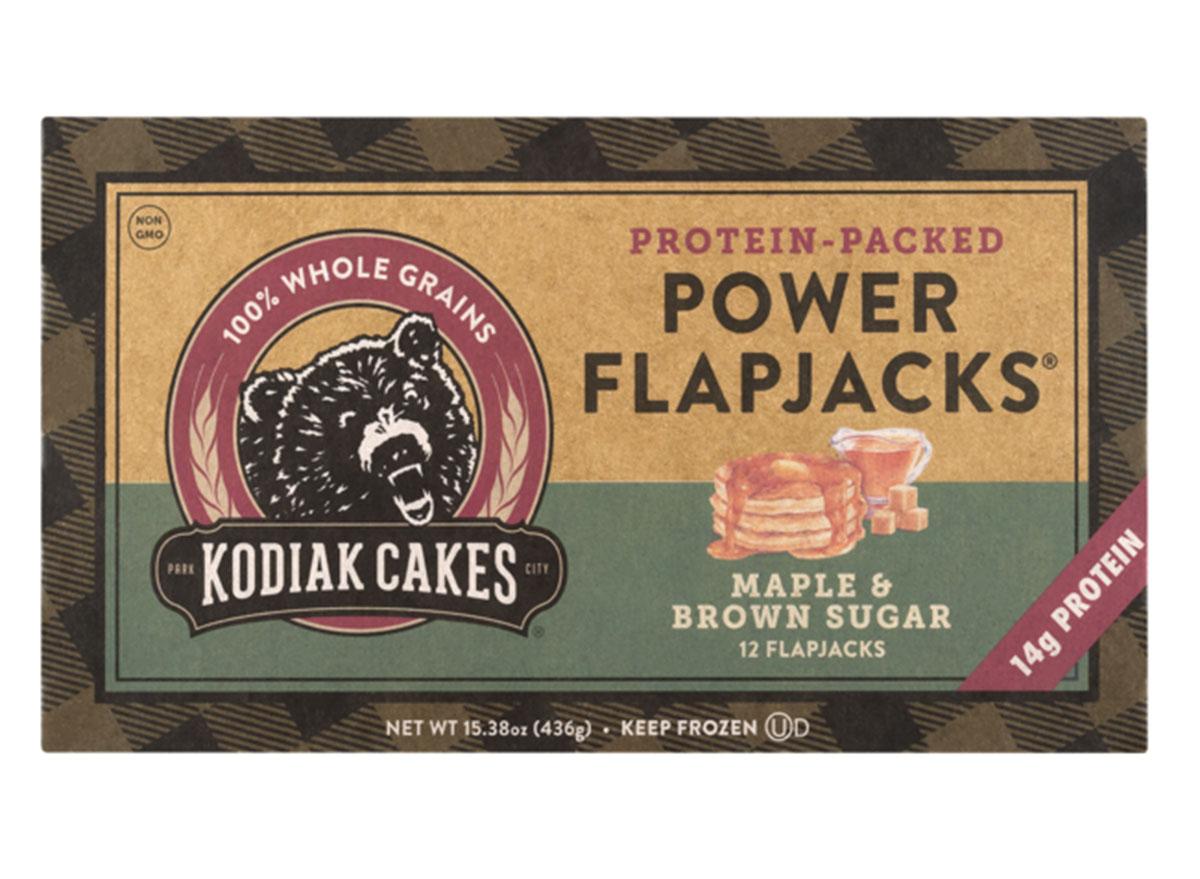 kodiak cakes maple brown sugar power flapjacks