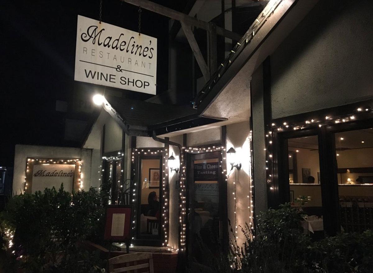 madelines restaurant