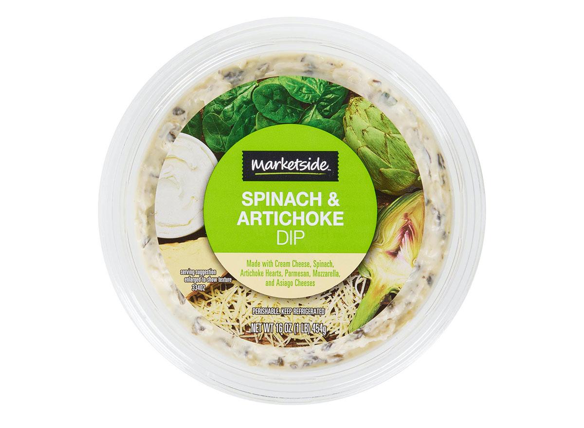 marketside spinach artichoke dip