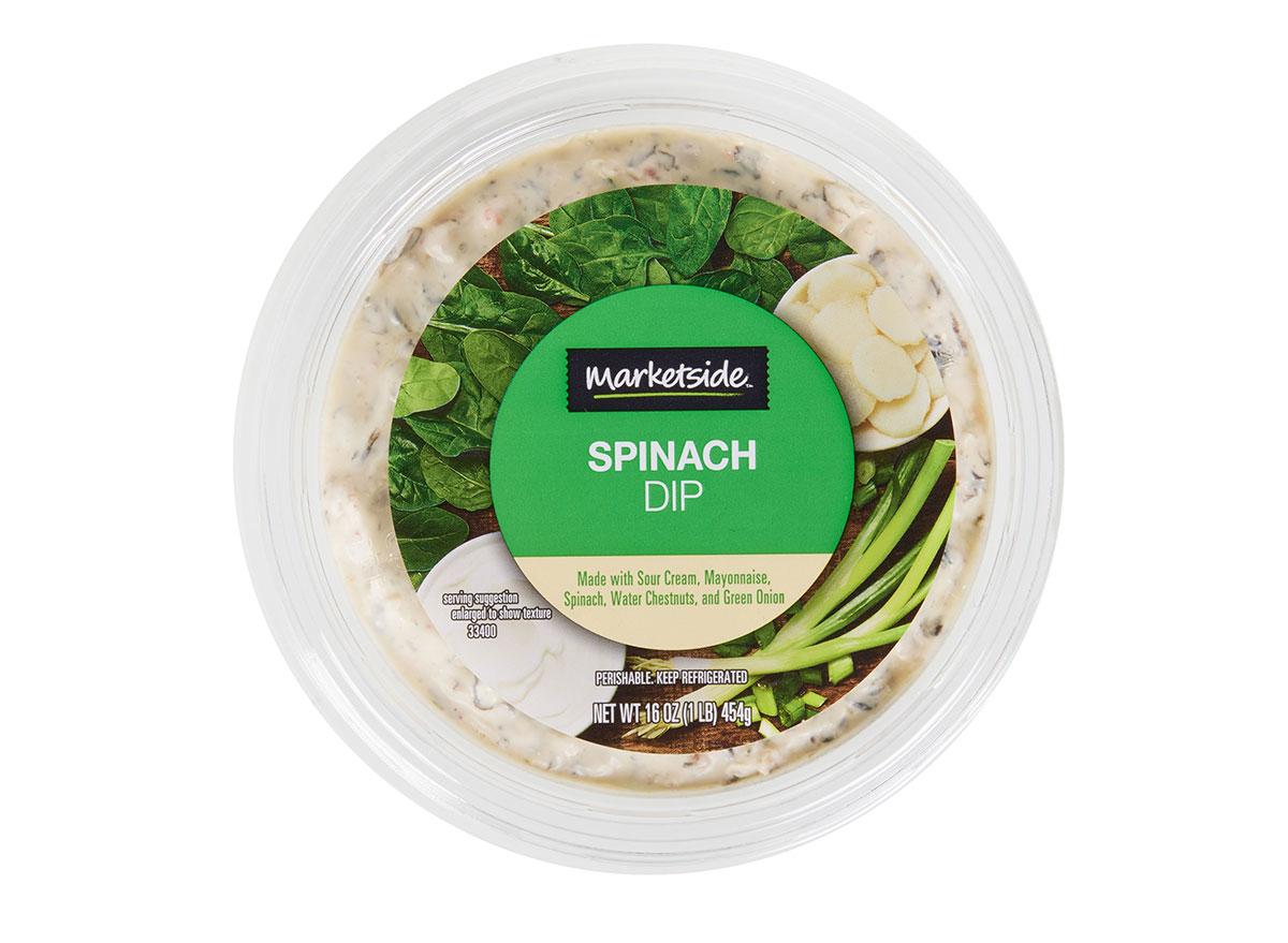 marketside spinach dip