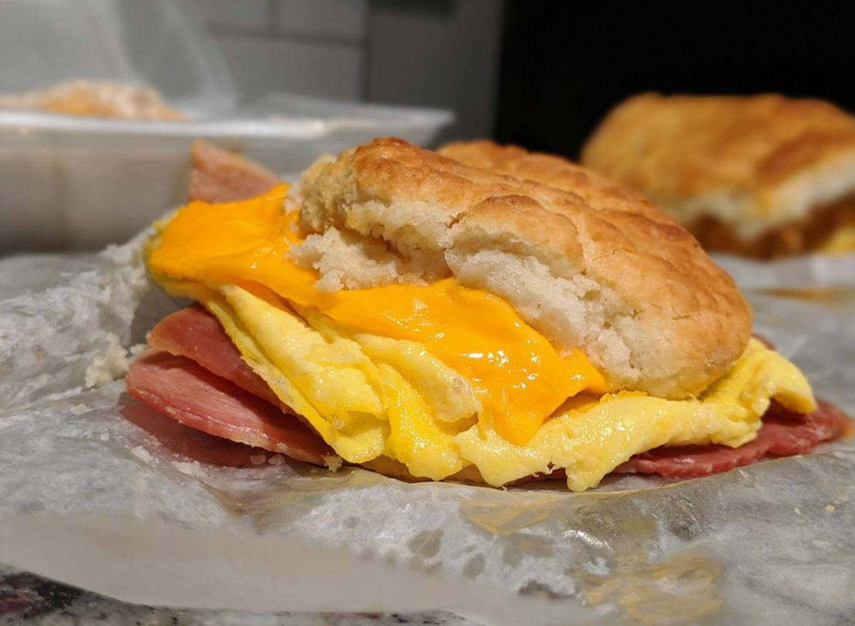 north carolina sunrise biscuit kitchen