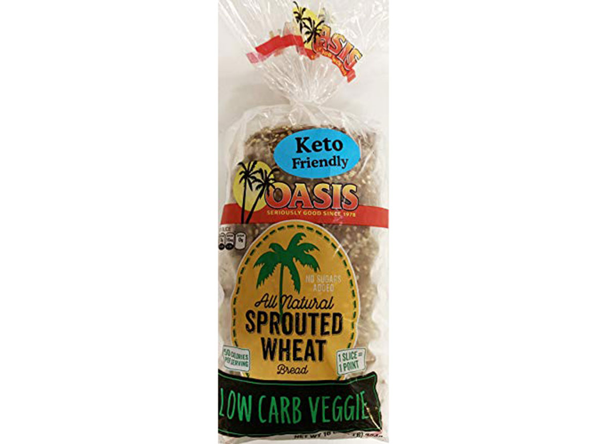 oasis bread sprouted wheat