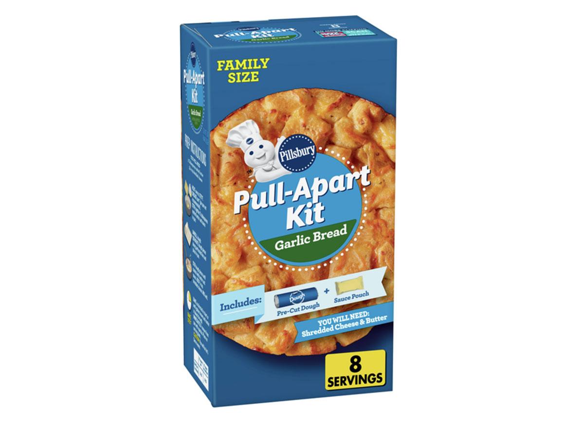 pillsbury garlic bread pull-apart kit