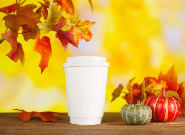 One Major Side Effect of Pumpkin Spice Drinks, Experts Say