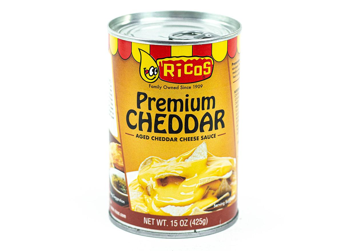 ricos premium cheddar aged cheese sauce