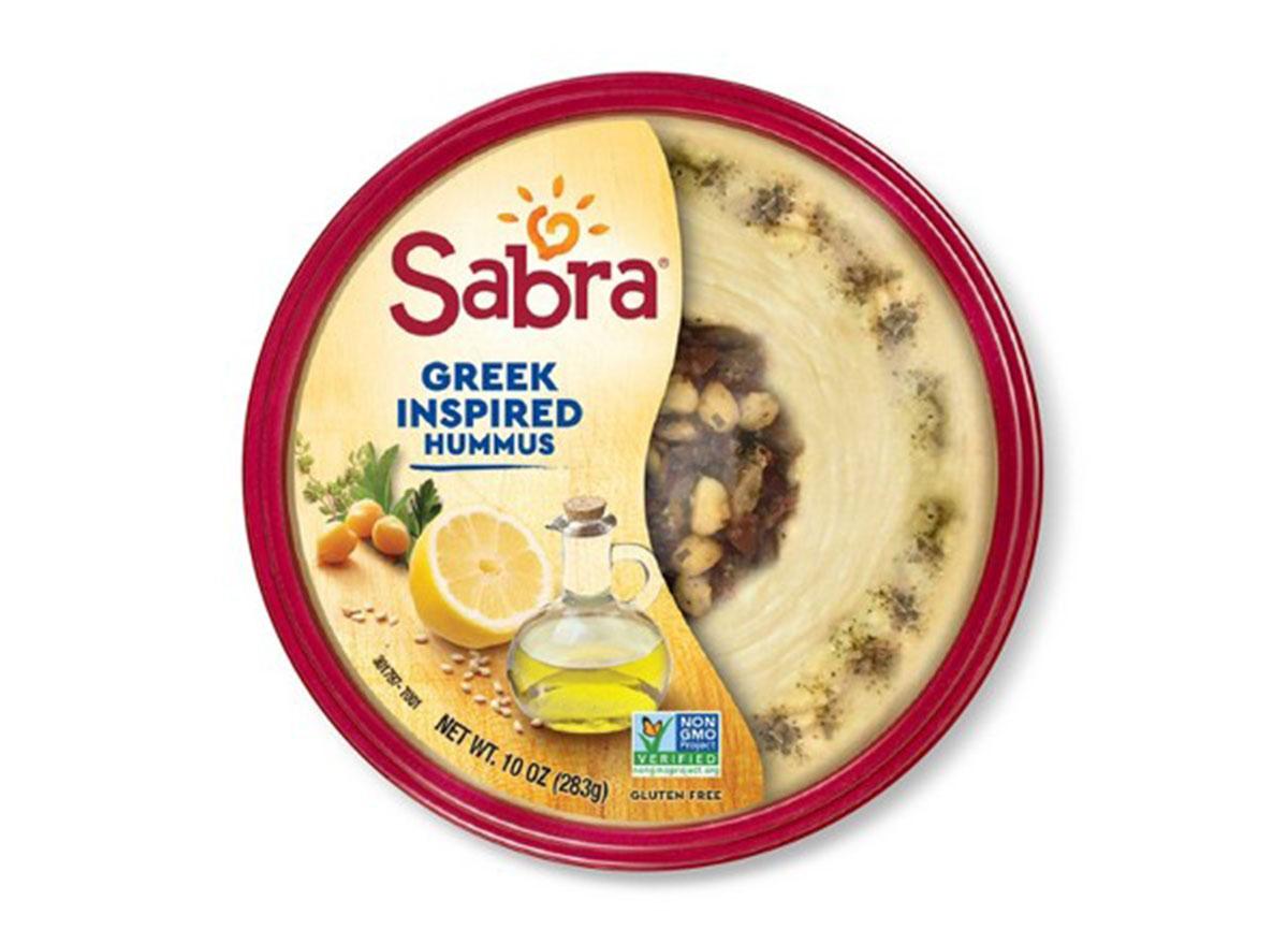 sabra greek inspired hummus