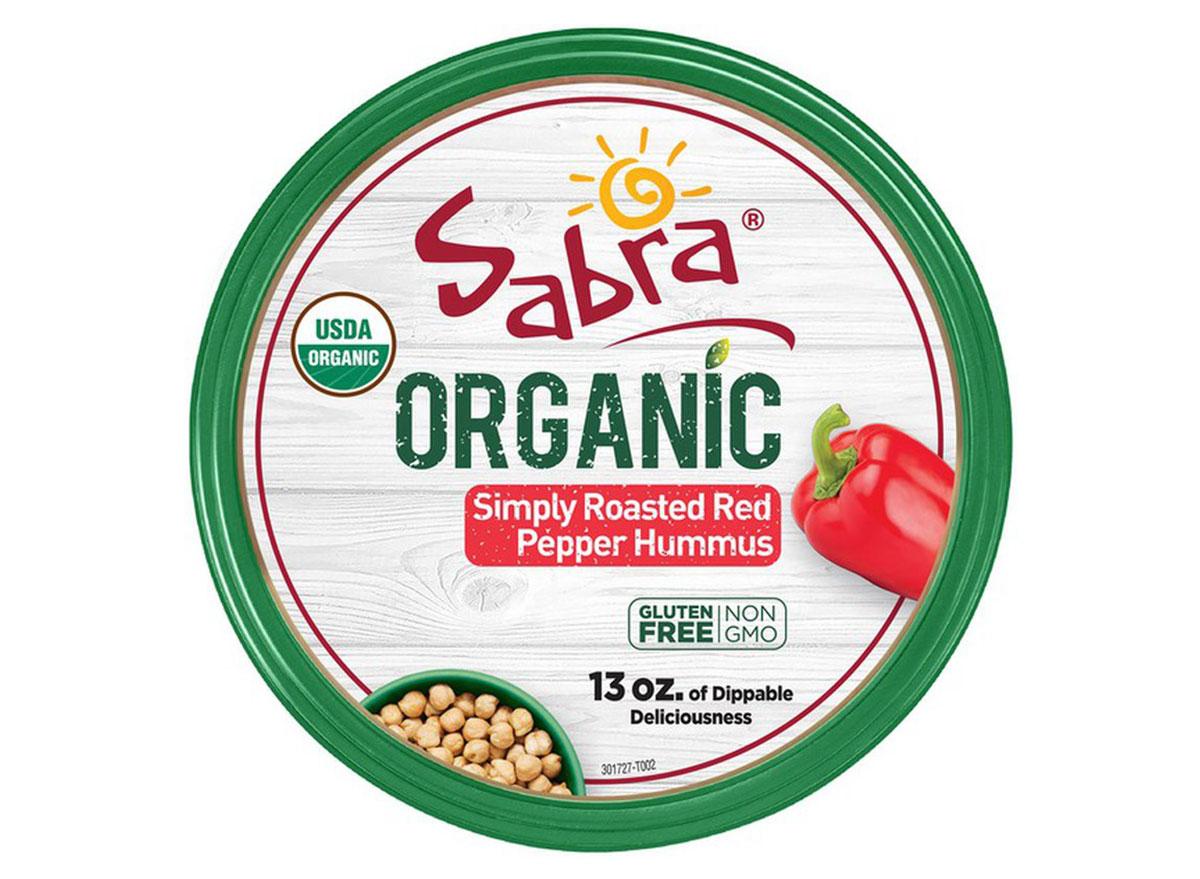 sabra organic red pepper hummus