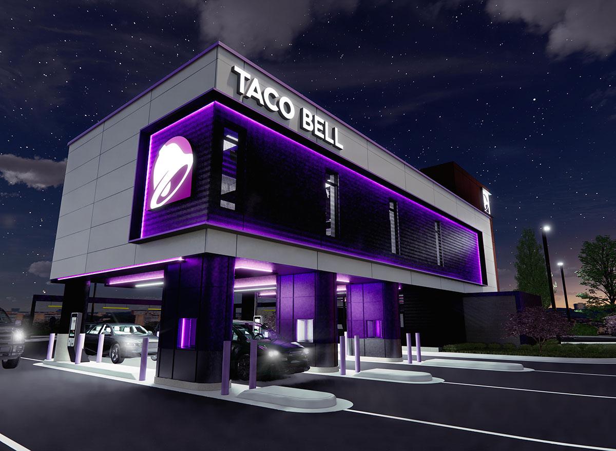taco bell defy exterior