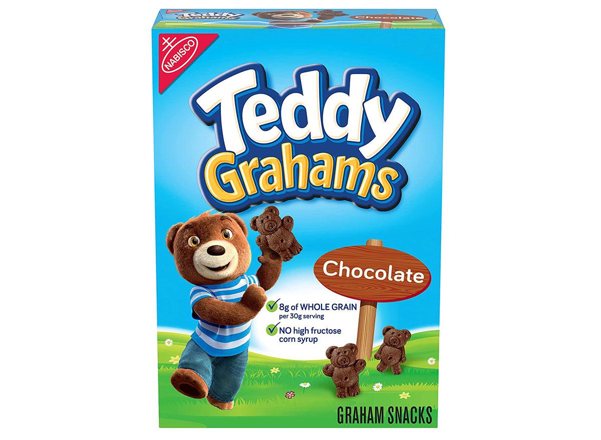 teddy grahams chocolate