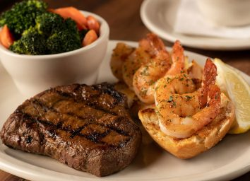 texas roadhouse steak and shrimp