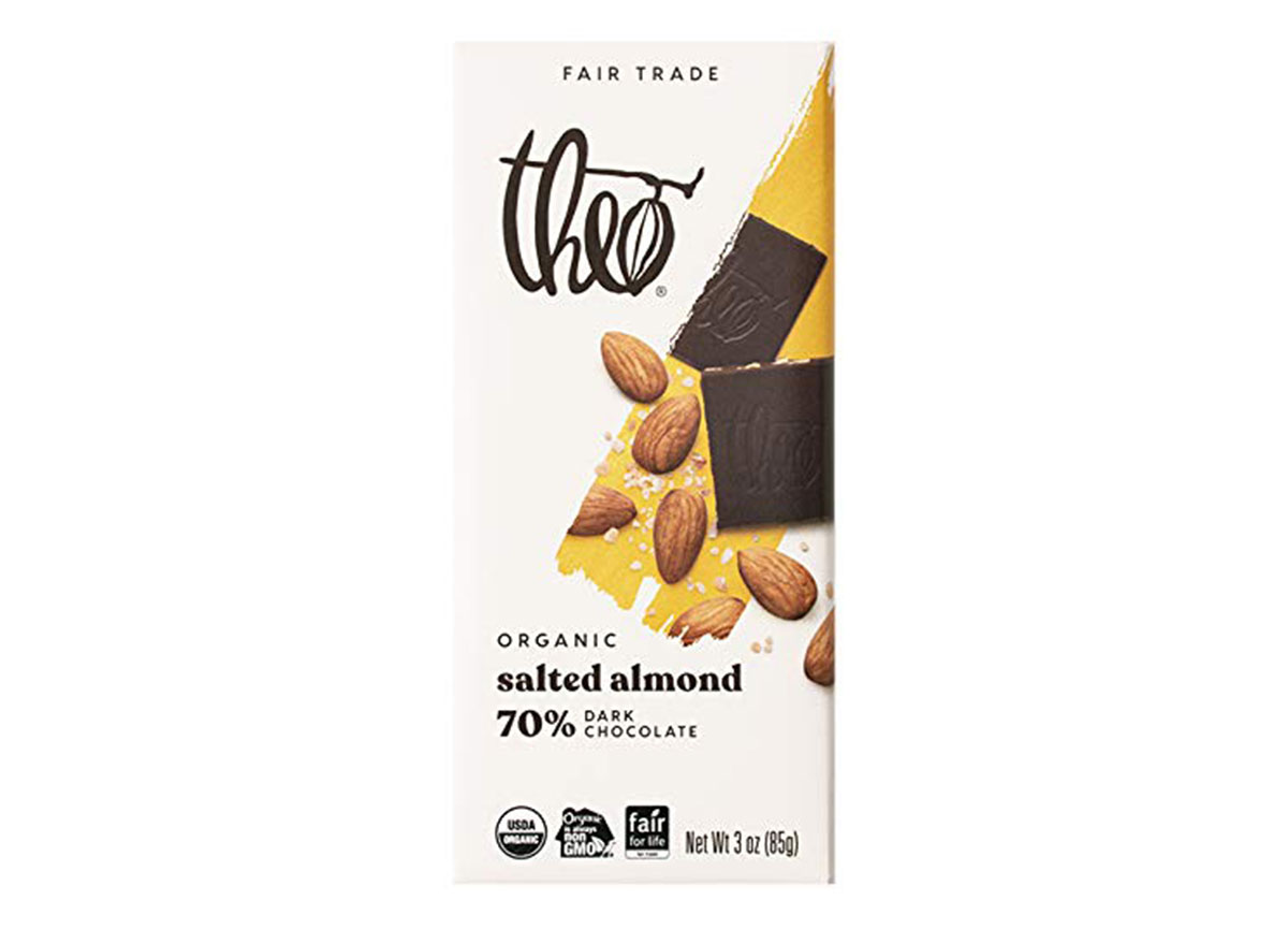 theo salted almond dark chocolate
