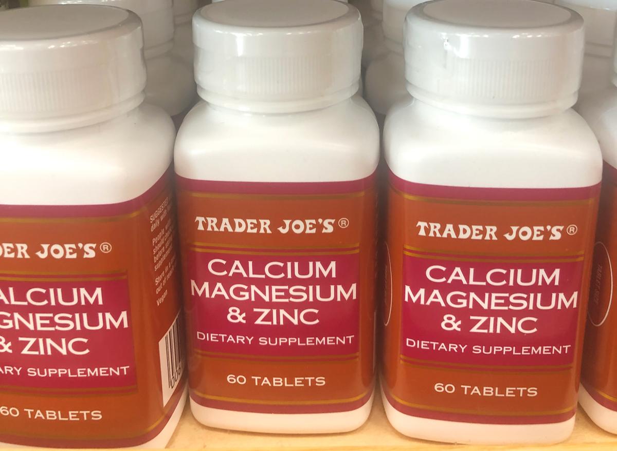 trader joes calcium magnesium zinc