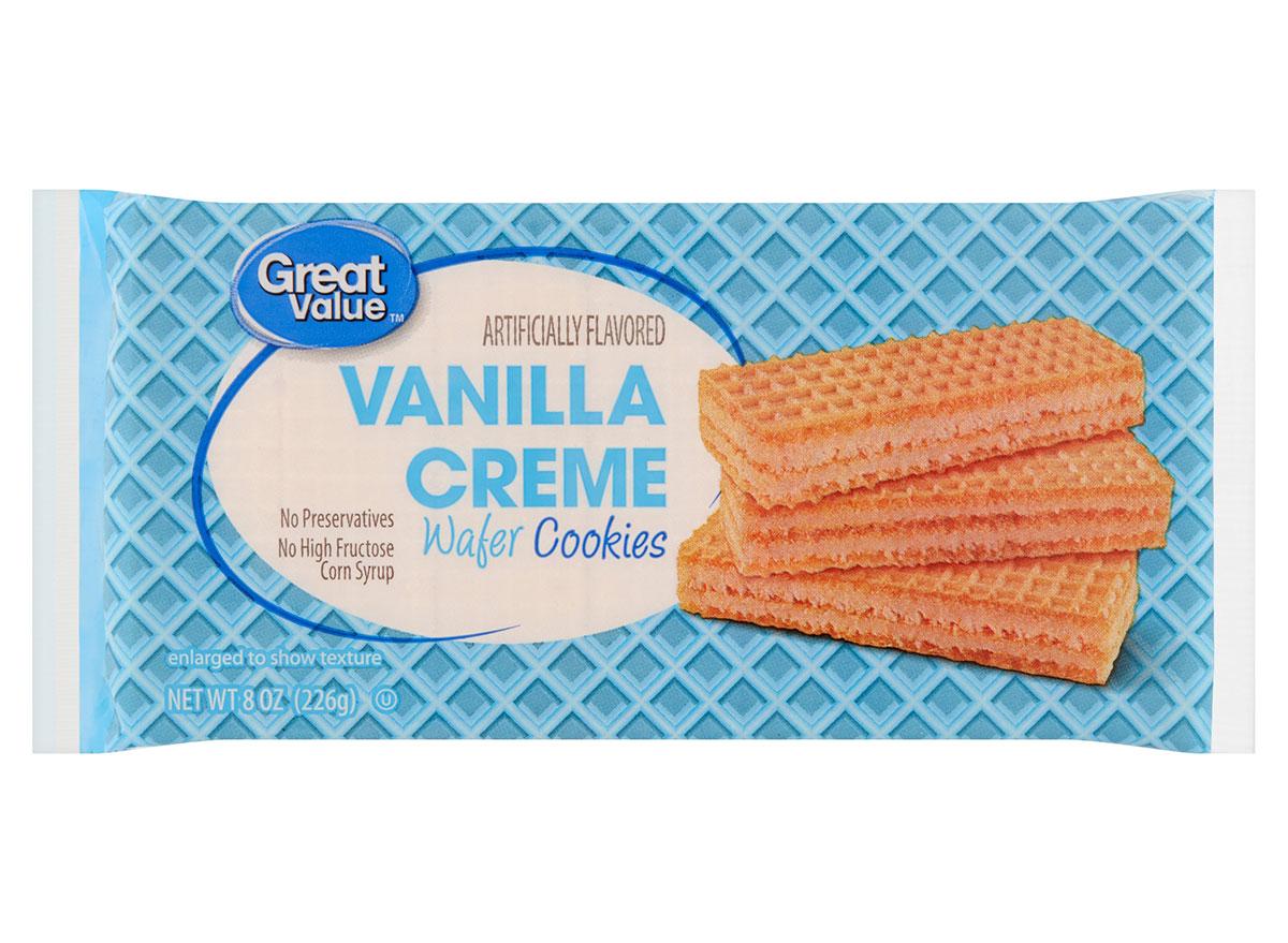 vanilla creme wafer cookies