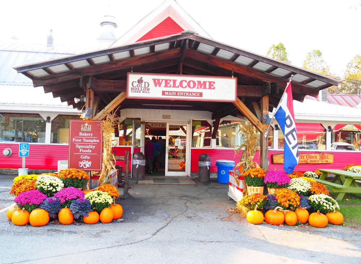 vermont cold hollow cider mill