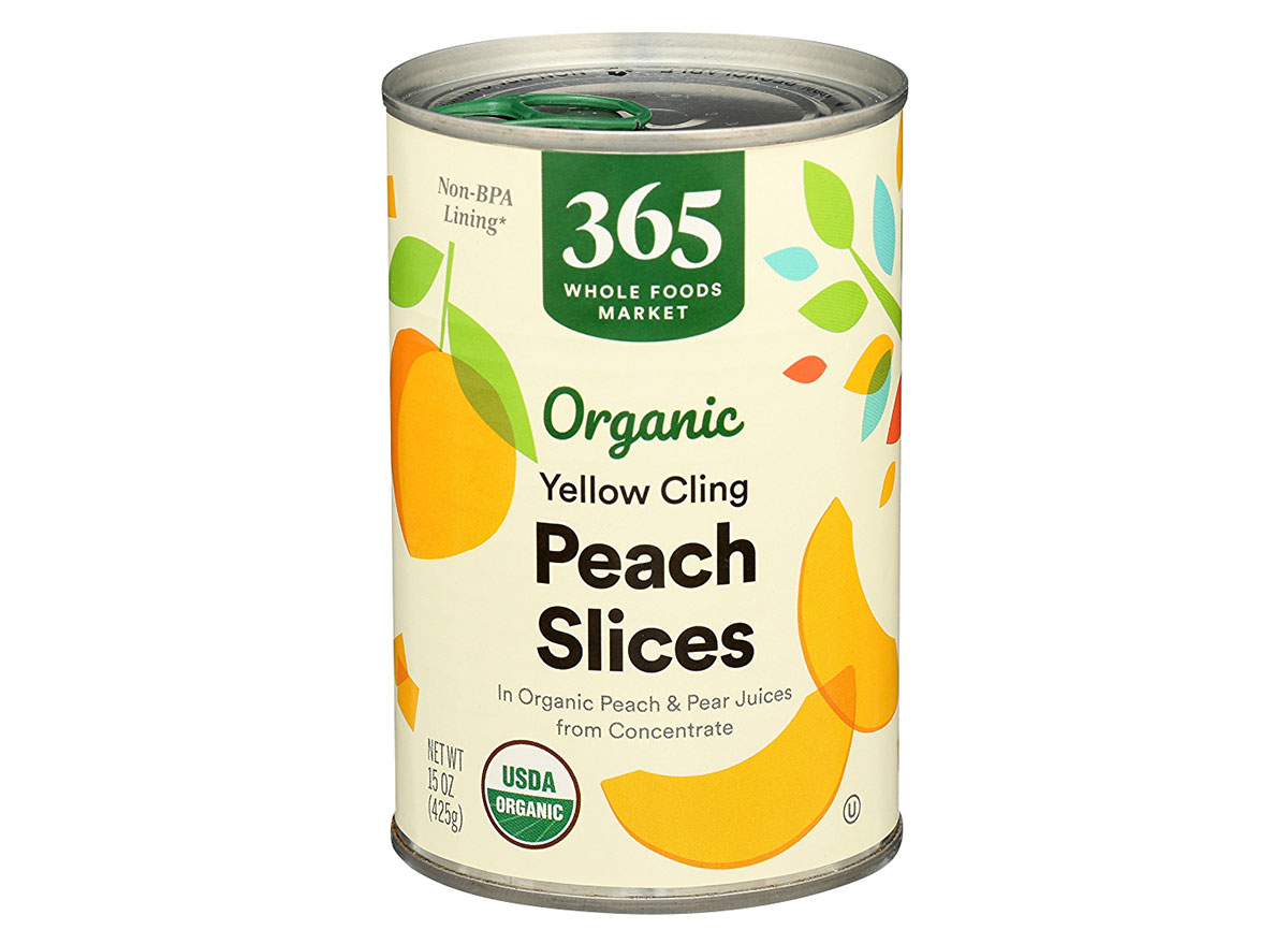 whole foods canned peaches