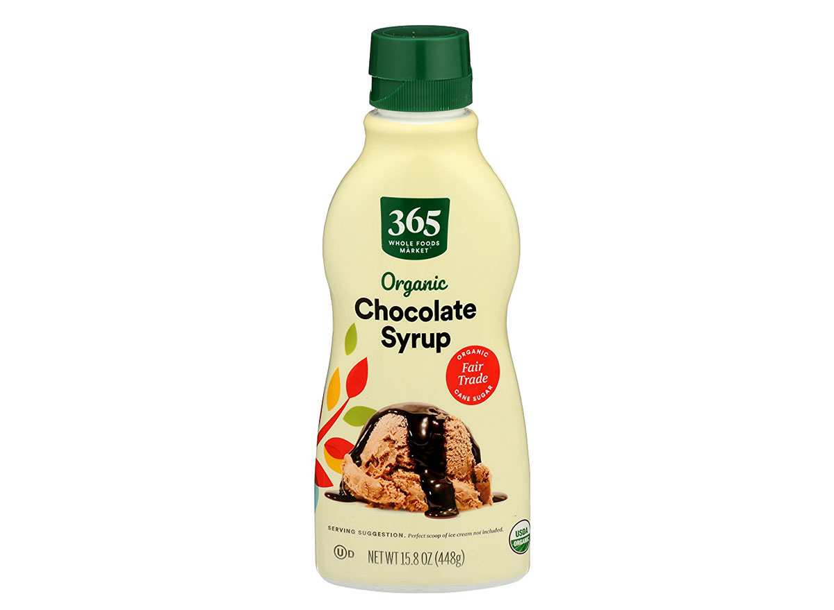 whole foods chocolate syrup