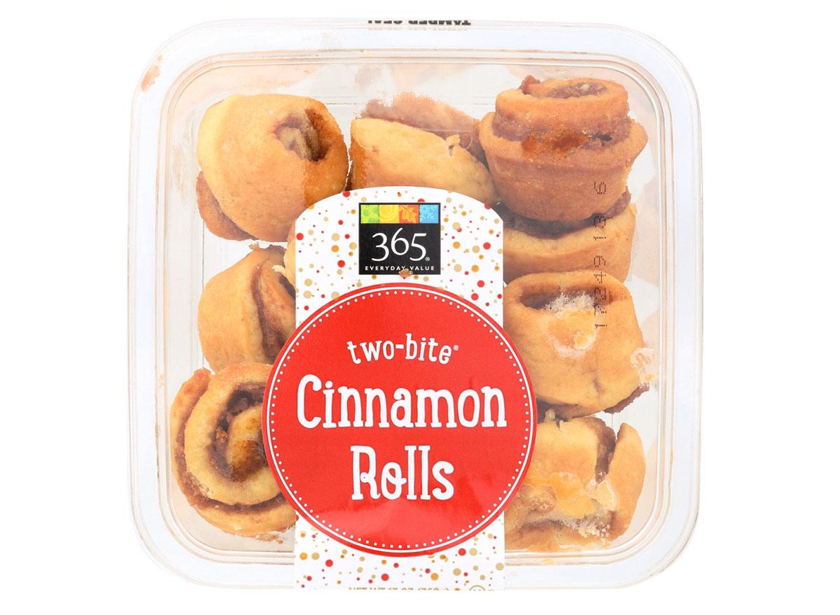whole foods cinnamon rolls