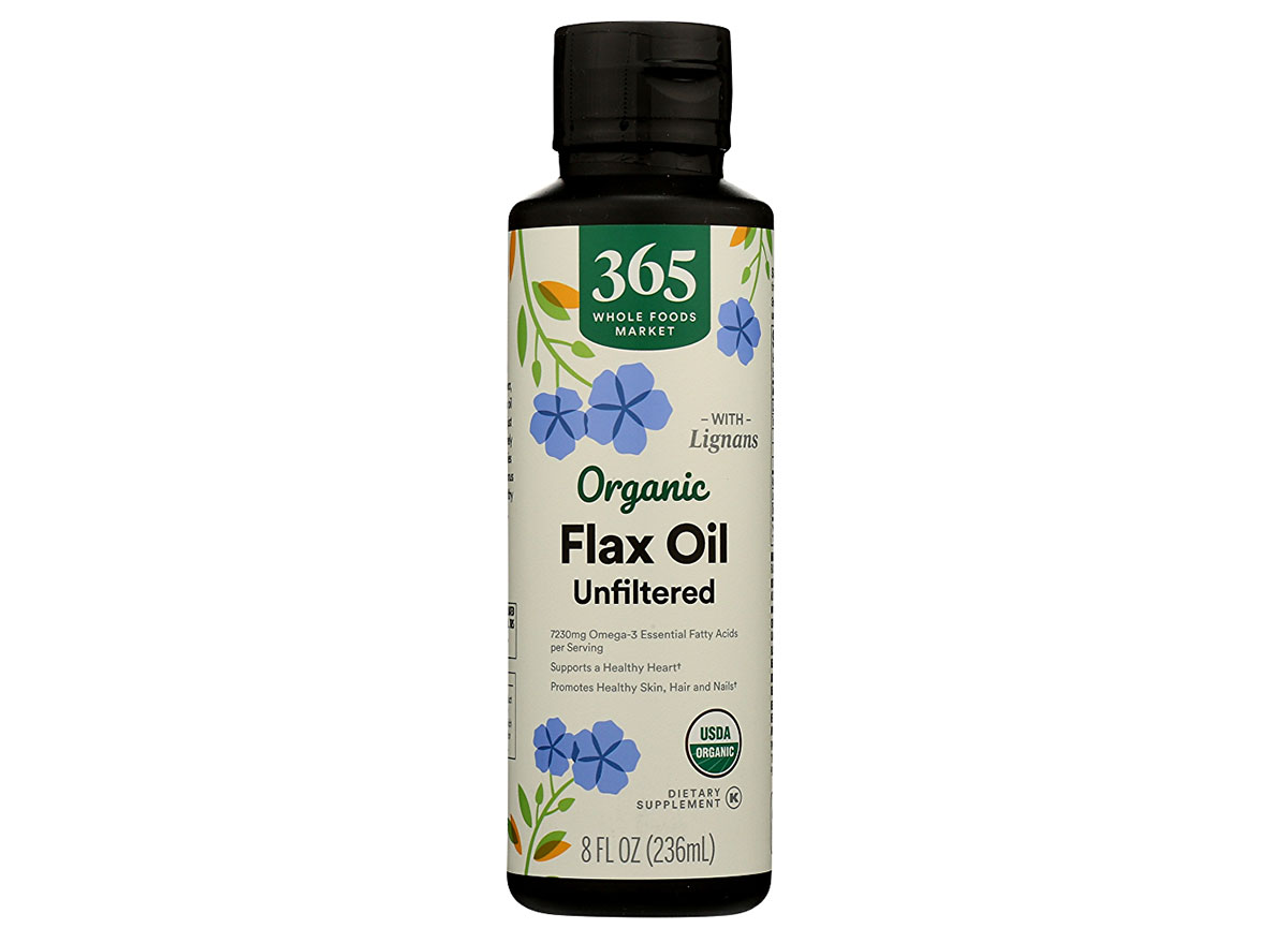 whole foods flaxseed oil