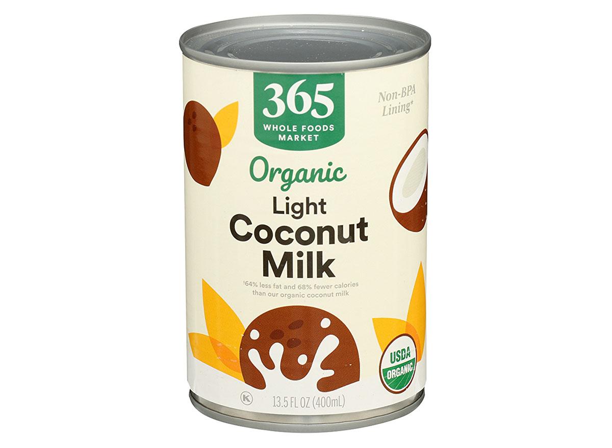 whole foods light coconut milk