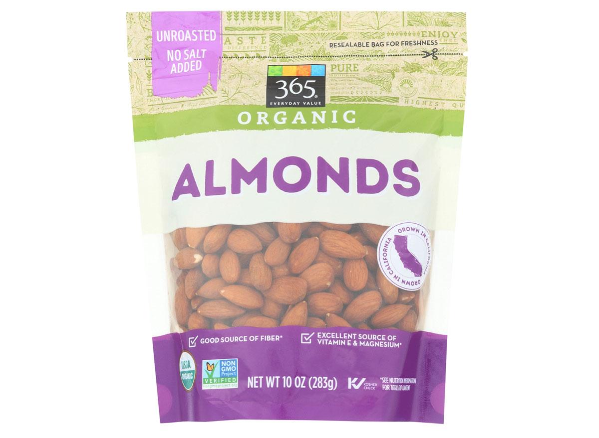 whole foods organic raw almonds