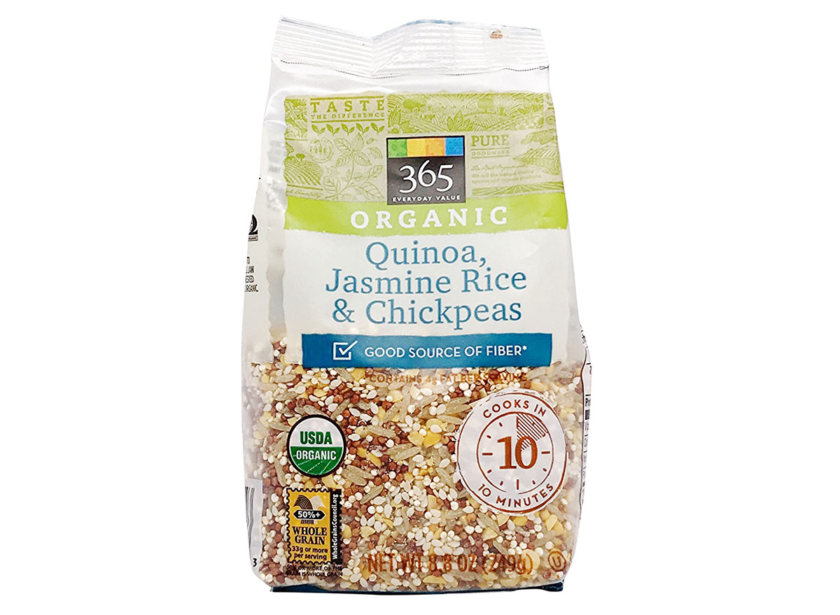 whole foods quinoa rice chickpea blend