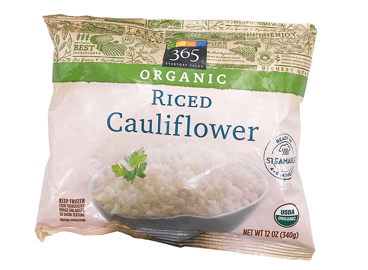 whole foods riced cauliflower