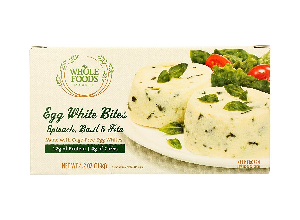 whole foods spinach feta egg white bites