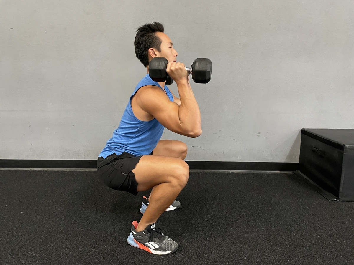 Dumbbell Thrusters