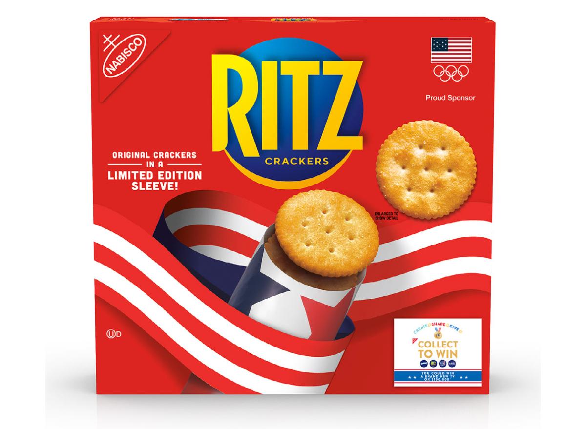 Team USA RITZ Original Crackers Walmart