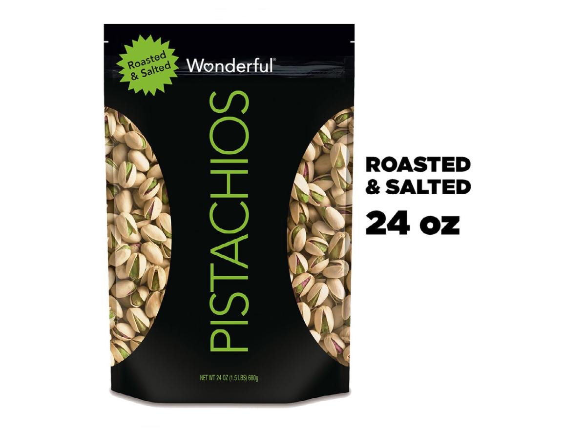Wonderful Roasted & Salted Pistachios Walmart