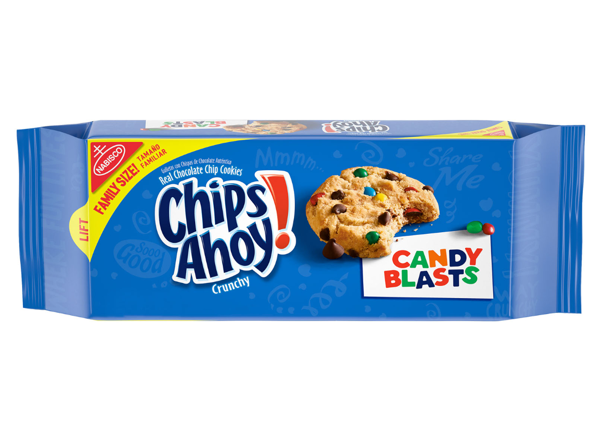 Chips Ahoy! Candy Blast Family Size Cookies Walmart