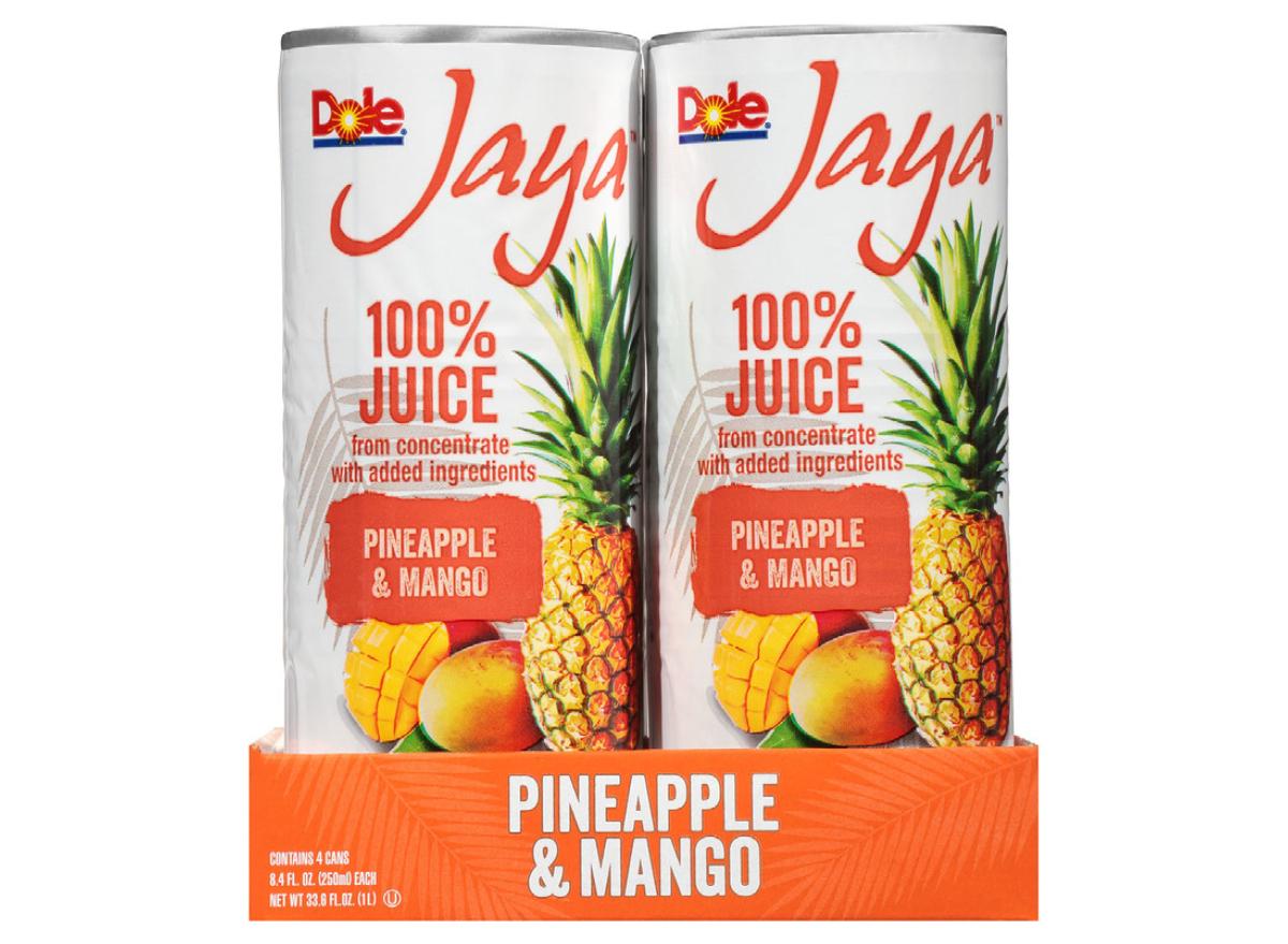 Dole Jaya 100% Pineapple & Mango Juice Walmart