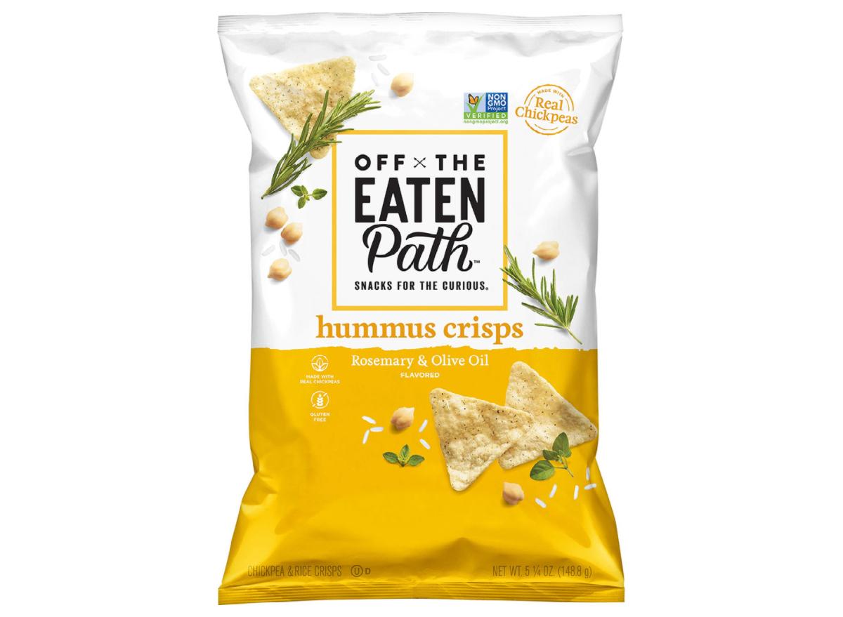 Off the Eaten Path Hummus Crisps, Rosemary & Olive Oil Walmart