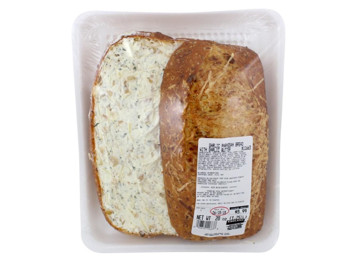 Costco garlic bread