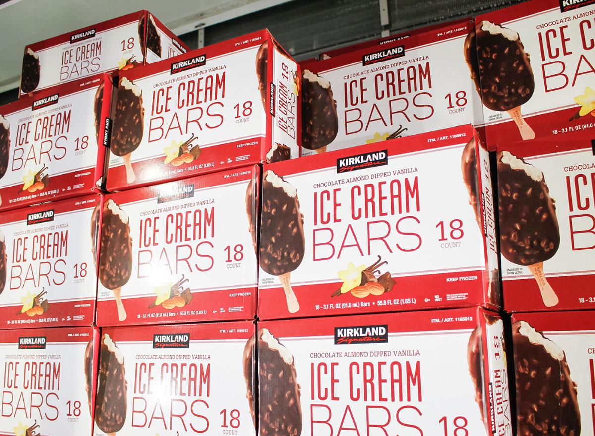 Costco ice cream bar