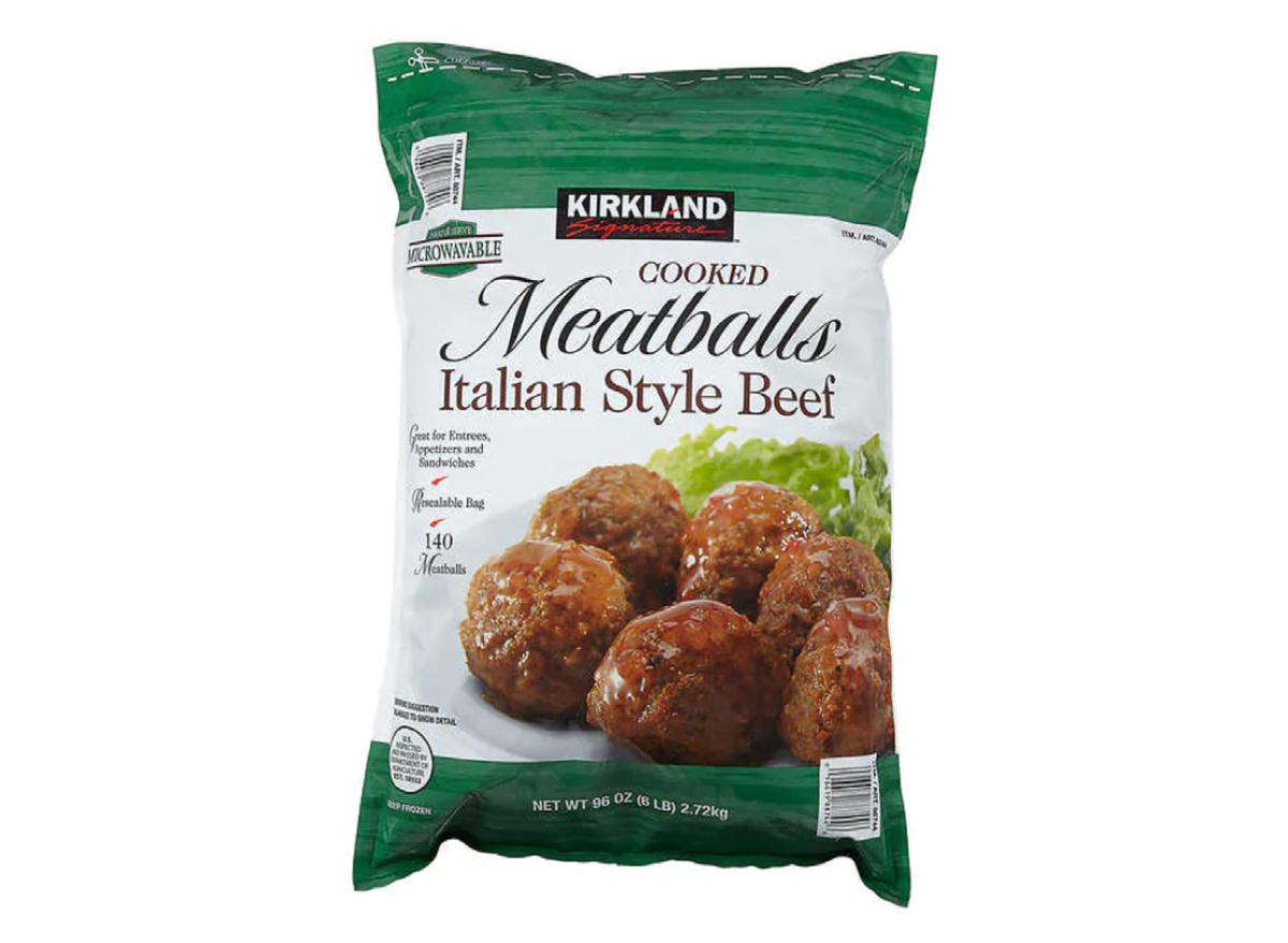 Costco Kirkland Signature meatballs