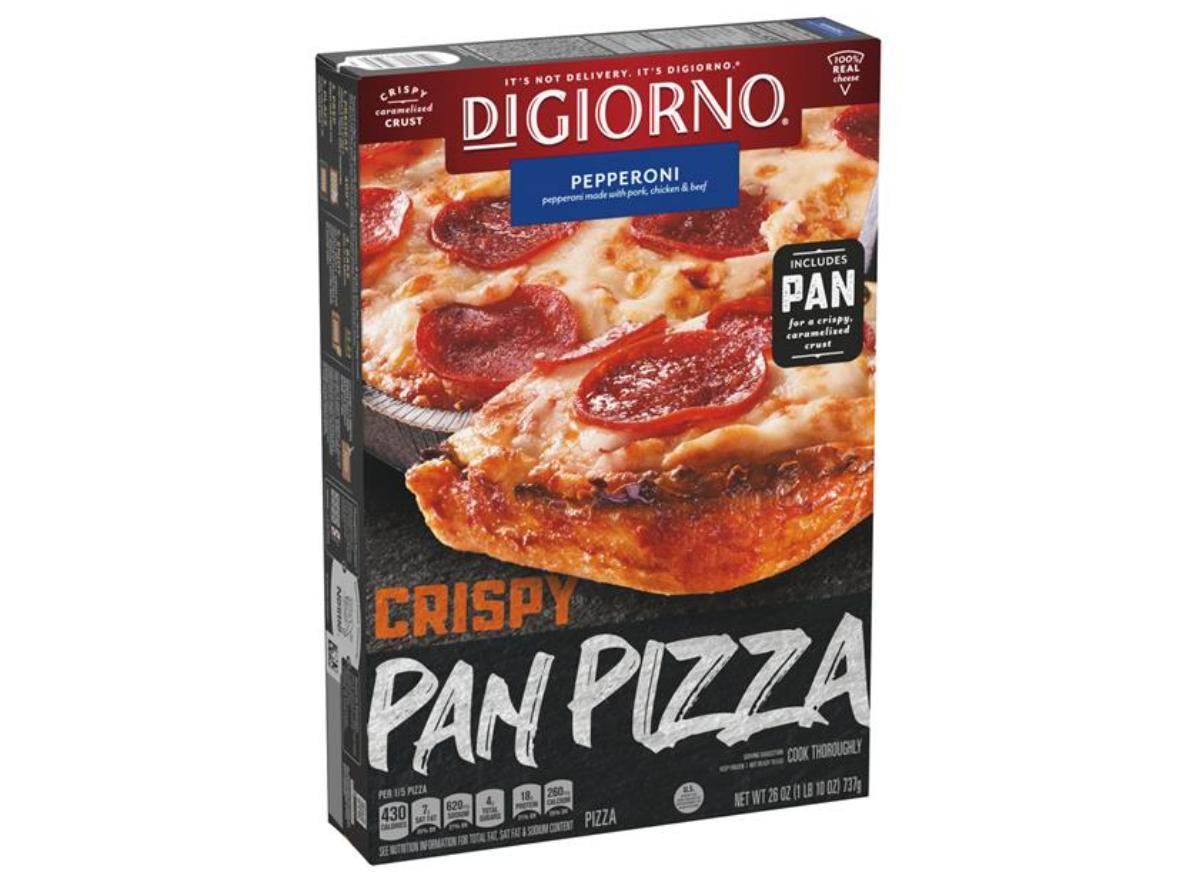 DiGiorno Crispy Pan Crust Pepperoni Pizza