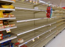 grocery shortage