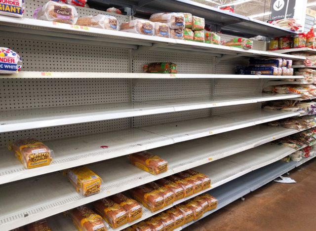 bread shortage