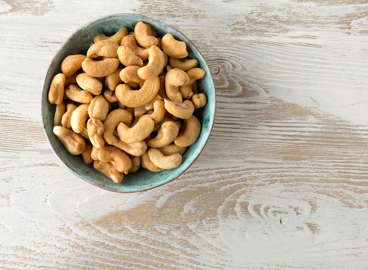 bowl cashews