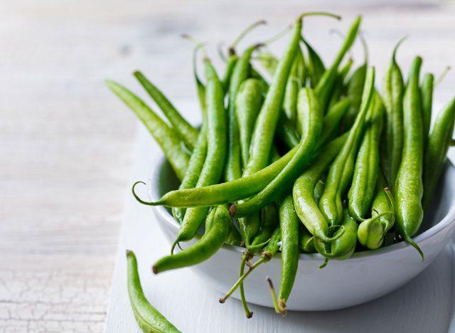 bowl green beans