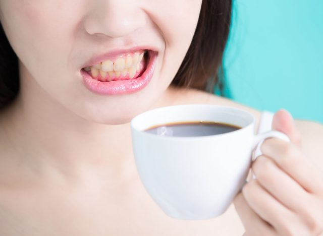 This One Ingredient Naturally Whitens Coffee-Stained Teeth, New Study Says