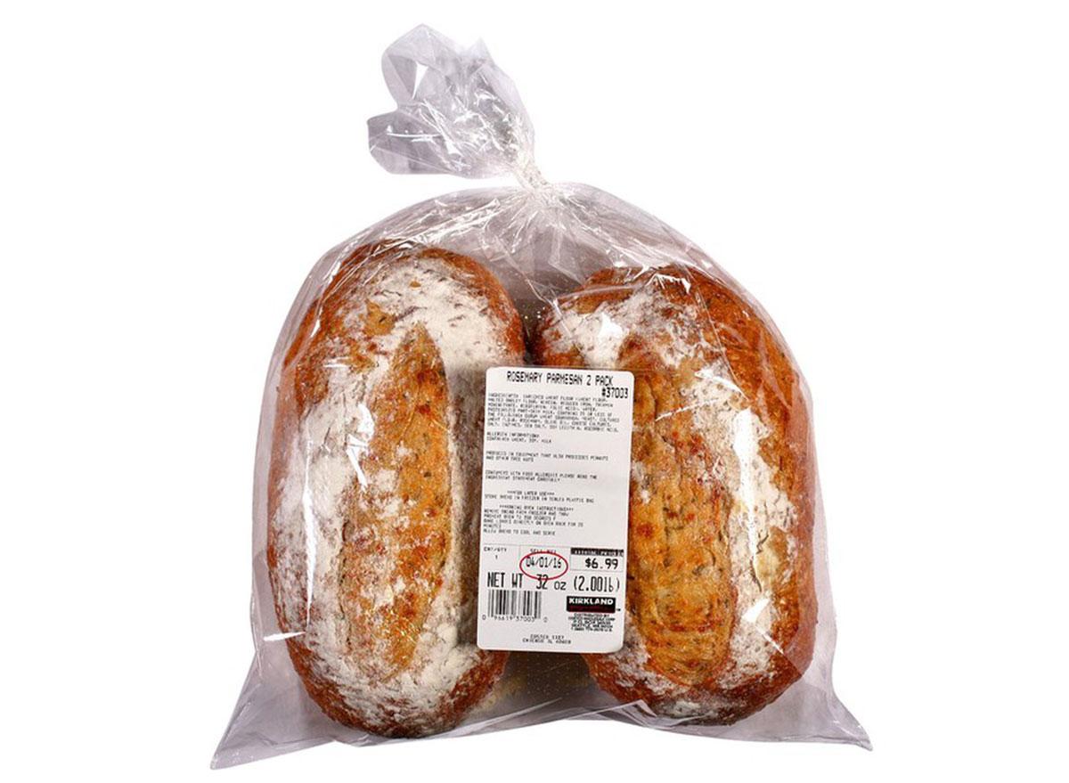 costco rosemary parmesan bread