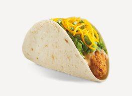 del taco crispy chicken taco