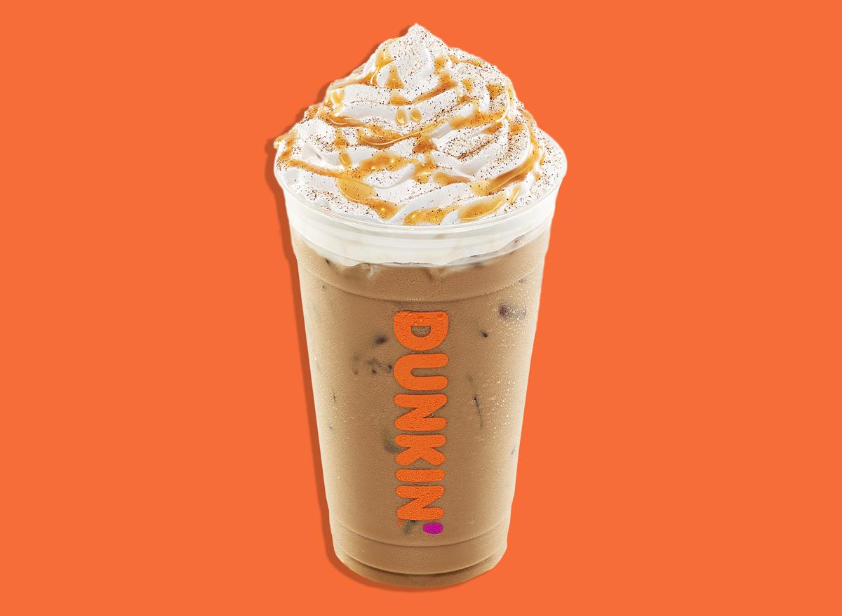 dunkin pumpkin spice latte