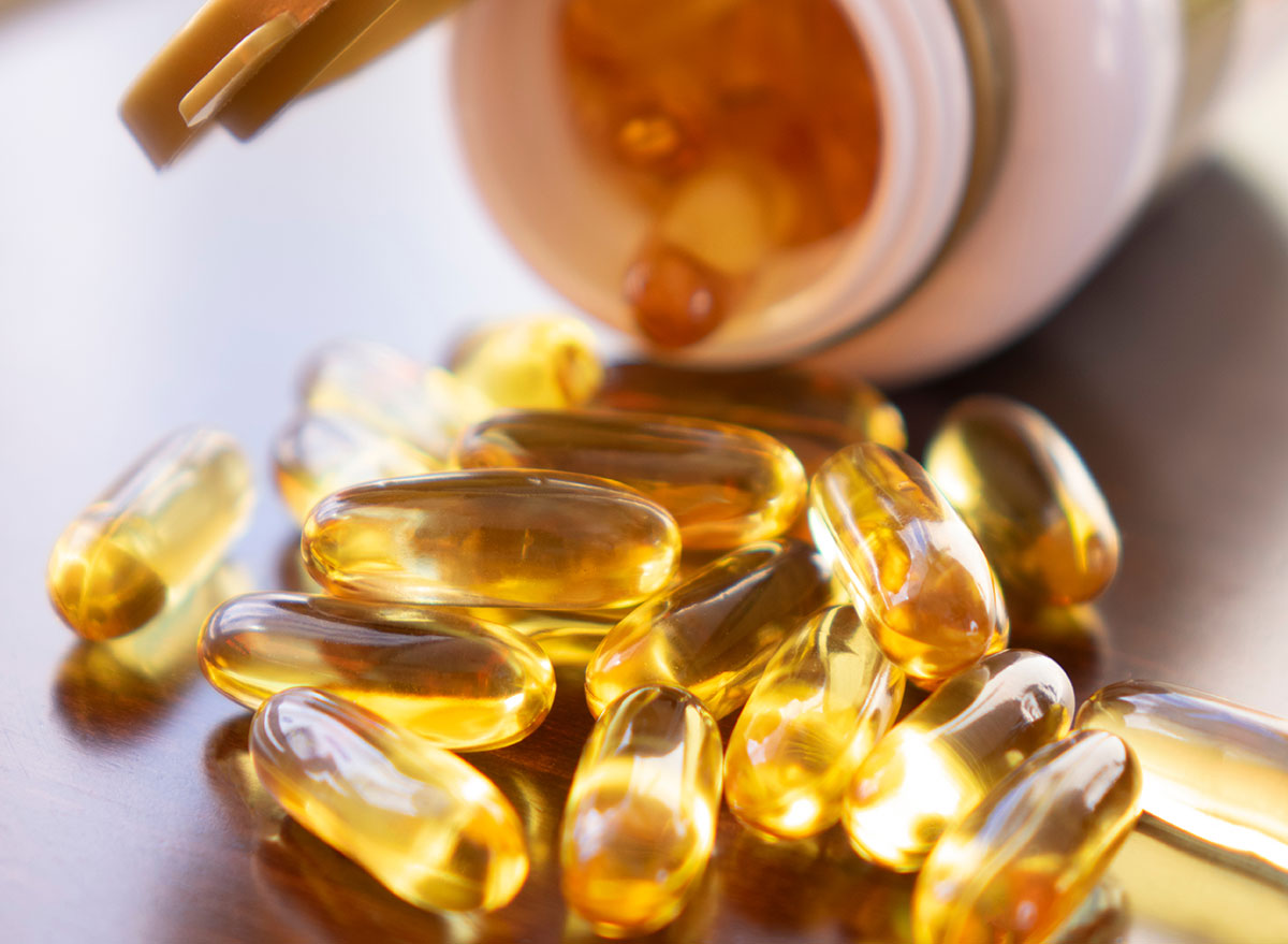 Food supplement with fish oil